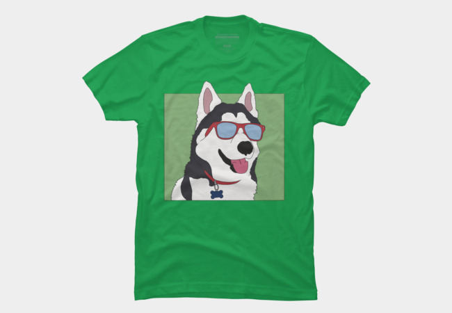 Coolest Dog Ever Men's T-Shirt