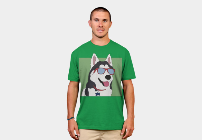 Coolest Dog Ever T-Shirt - Design By Humans