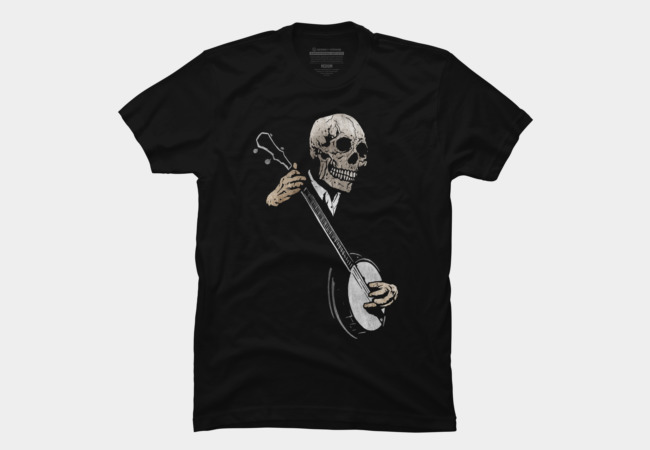 The Banjo Blues Men's T-Shirt