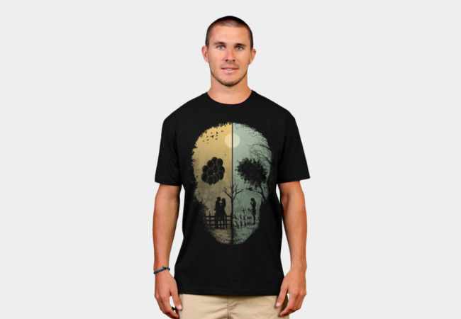 Skull Story T-Shirt - Design By Humans