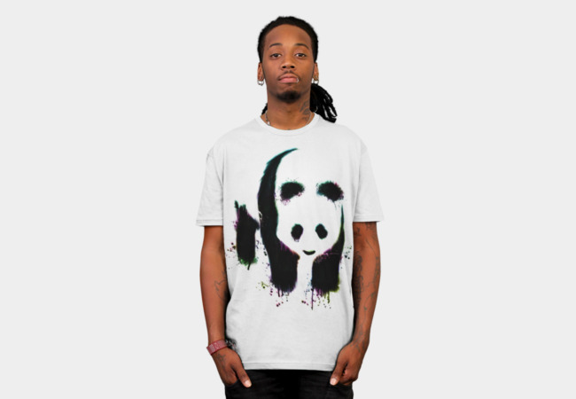 Panda T-Shirt - Design By Humans