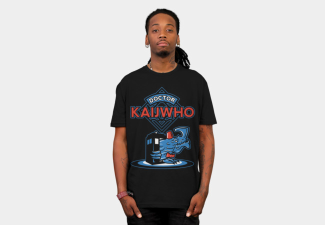 Doctor KaijWho T-Shirt - Design By Humans