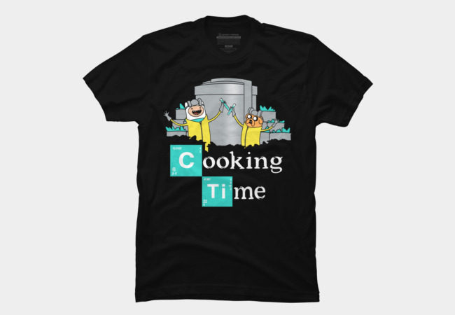Cooking Time Men's T-Shirt