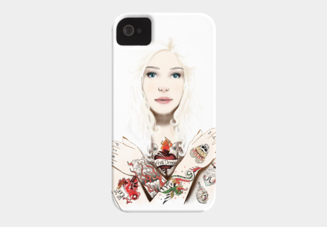 Khaleesi Phone Case - Design By Humans