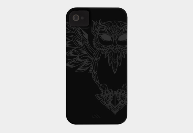 COSMIC OWL LINE Phone Case - Design By Humans