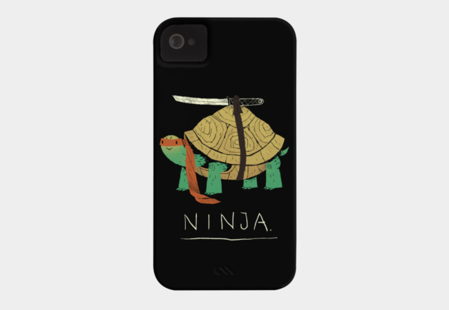 ninja Phone Case - Design By Humans