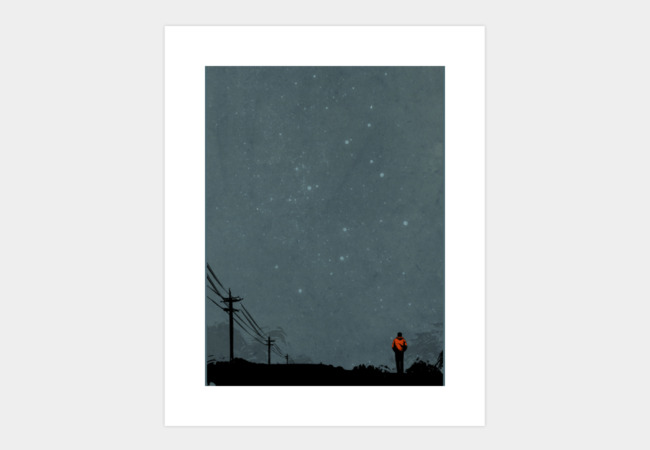 The Road Art Print - Design By Humans