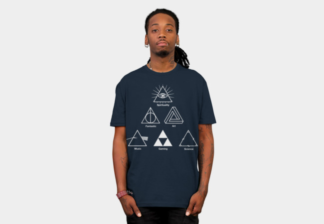 Triangle T-Shirt - Design By Humans