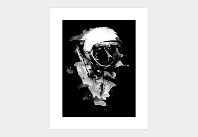Space Dog Art Print - Design By Humans