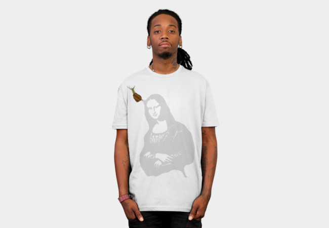 Mona Lisa SLIME T-Shirt - Design By Humans