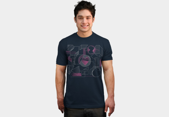 Companion Cubism T-Shirt - Design By Humans