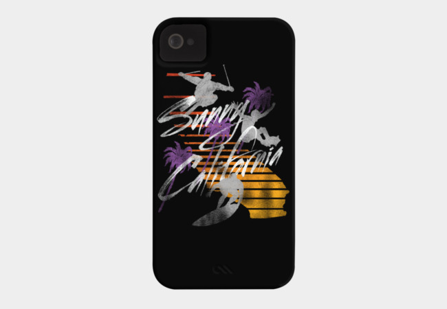 Sunny California! Phone Case - Design By Humans