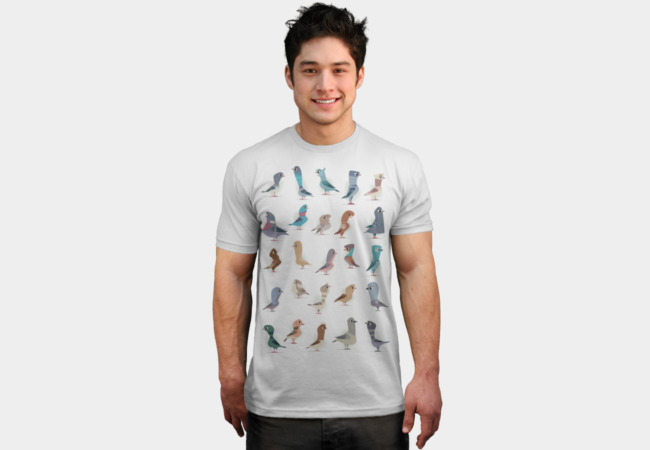 Pigeons T-Shirt - Design By Humans