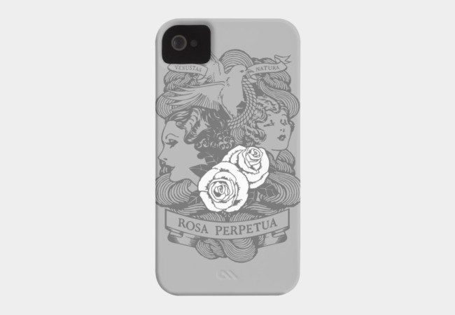 Rose Garden (light) Phone Case - Design By Humans