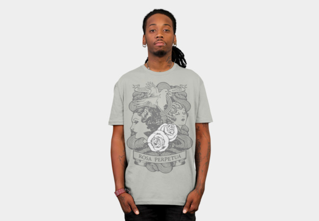 Rose Garden (light) T-Shirt - Design By Humans