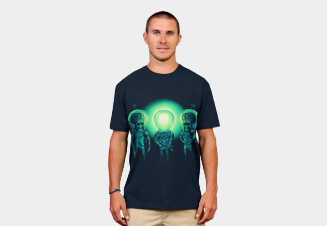 Bulb Head T-Shirt - Design By Humans