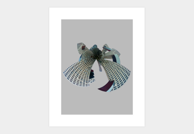 Linked Hybrid Art Print - Design By Humans