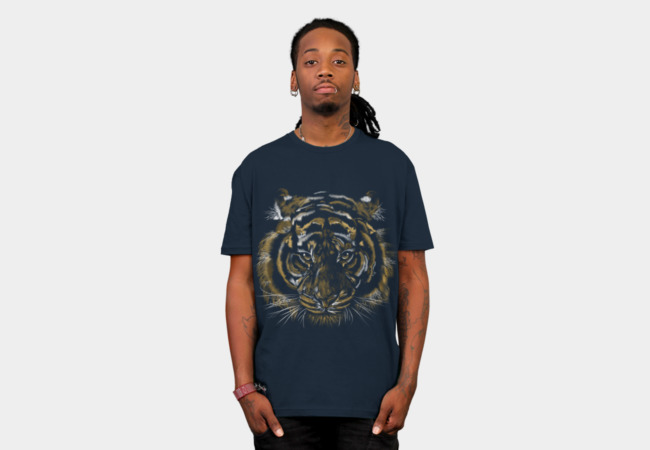 Wild Tiger T-Shirt - Design By Humans