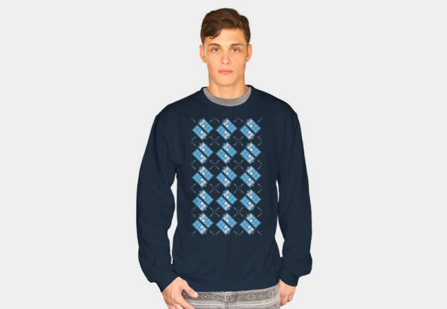 Gallifrey Argyle Sweatshirt - Design By Humans