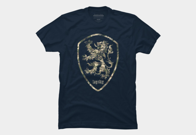 Loyal Lion Men's T-Shirt