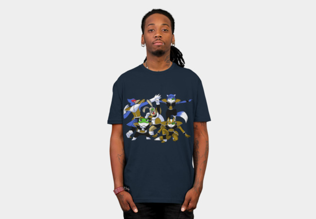 Fox Force T-Shirt - Design By Humans