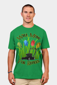 Will mow for rupees