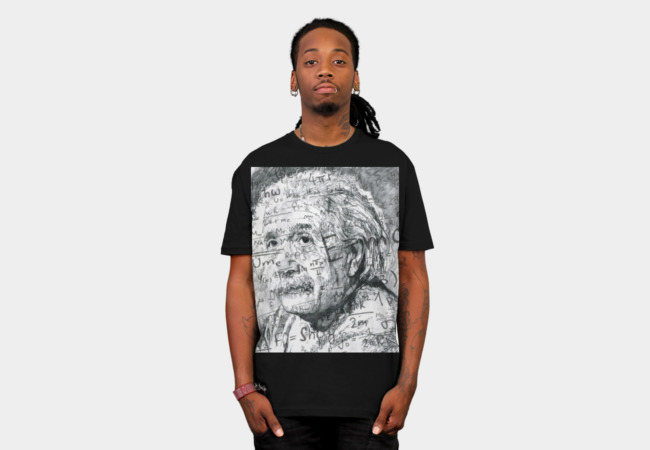 Einstein T-Shirt - Design By Humans