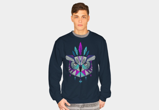 owl king Sweatshirt - Design By Humans