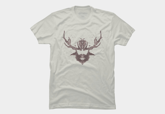 Hannibal Rorschach Test Men's T-Shirt