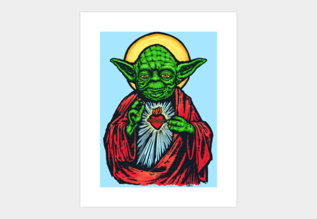 Holy Master Art Print - Design By Humans