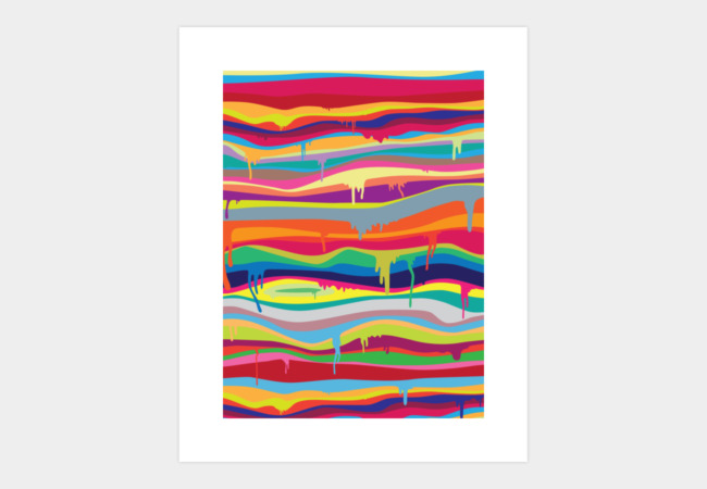 The Melting Art Print - Design By Humans