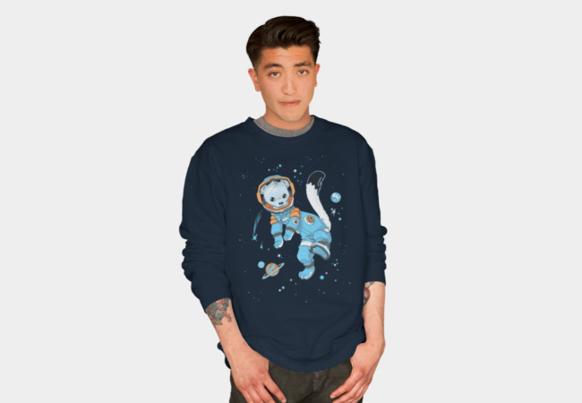 Space Ermine Sweatshirt - Design By Humans
