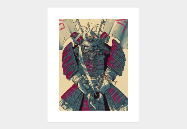 Zero Samurai Art Print - Design By Humans
