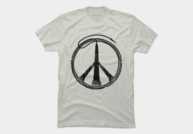 Music Not War Men's T-Shirt
