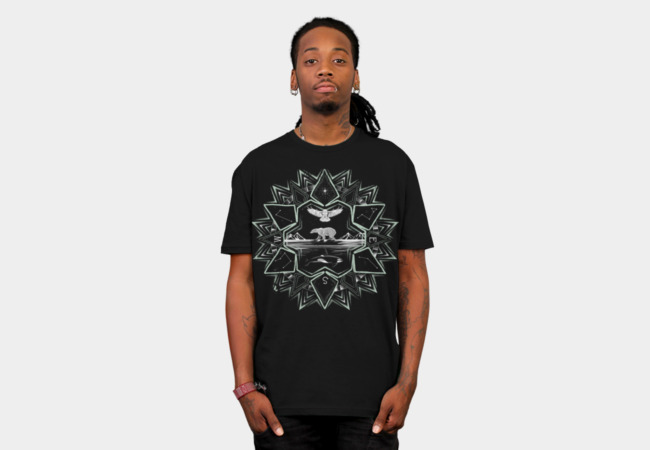Northern Star T-Shirt - Design By Humans