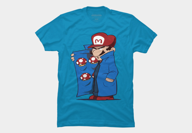 Mario Shroom Dealer Men's T-Shirt