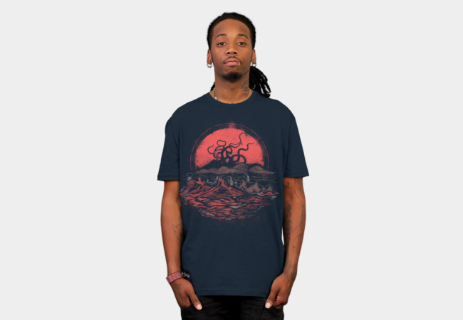Tentacle Wars T-Shirt - Design By Humans