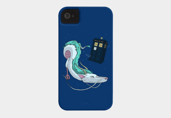 Spirited Away with the Doctor Phone Case - Design By Humans