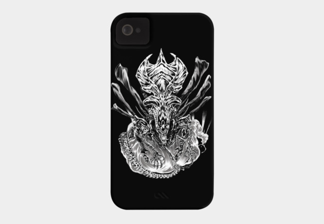 LONG LIVE THE QUEEN (black & white) Phone Case - Design By Humans