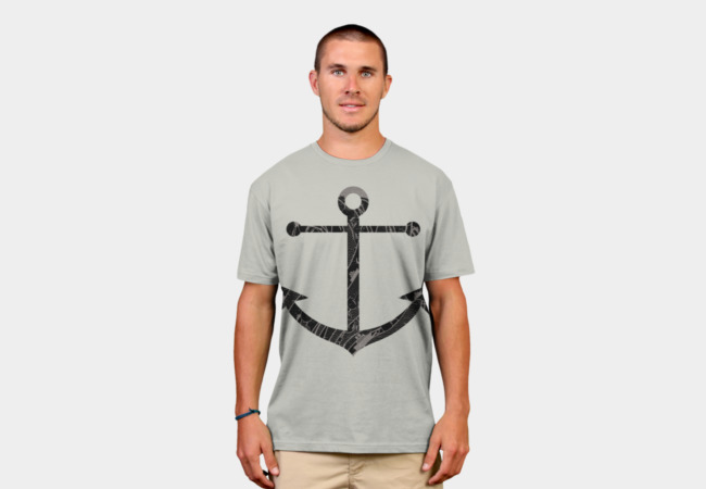 Ocean Anchor T-Shirt - Design By Humans