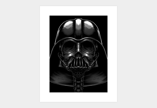 the Death Vader Art Print - Design By Humans