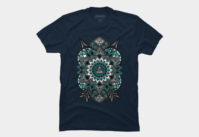 Corrupted Flower of Life Men's T-Shirt