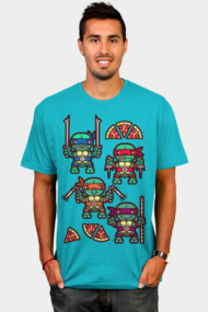 Teenage Mutant Ninja Turtles Pizza Party