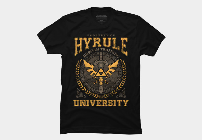 Hyrule University Men's T-Shirt