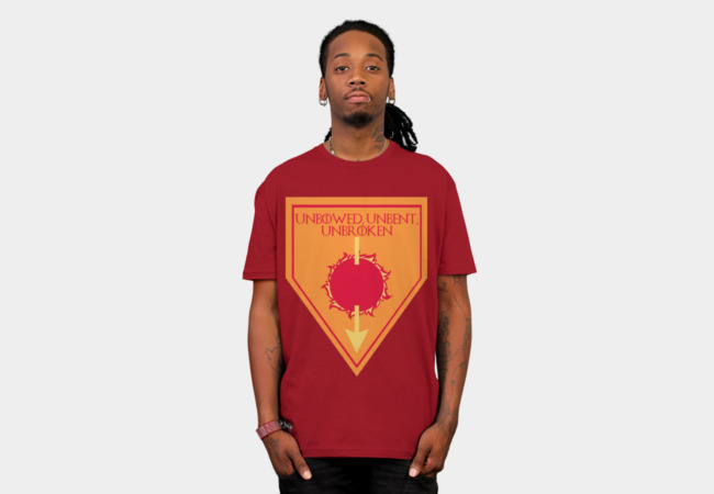 GOT House Martell Sigil T-Shirt - Design By Humans