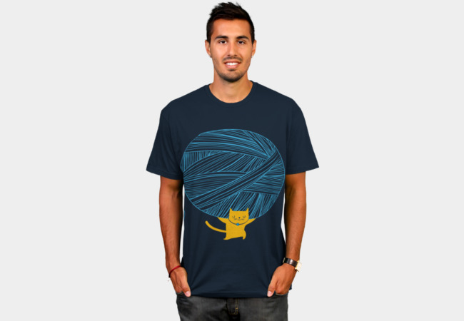 Catlas T-Shirt - Design By Humans
