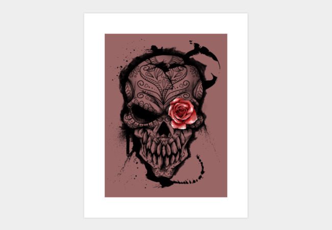 Day of the Dead Art Print - Design By Humans