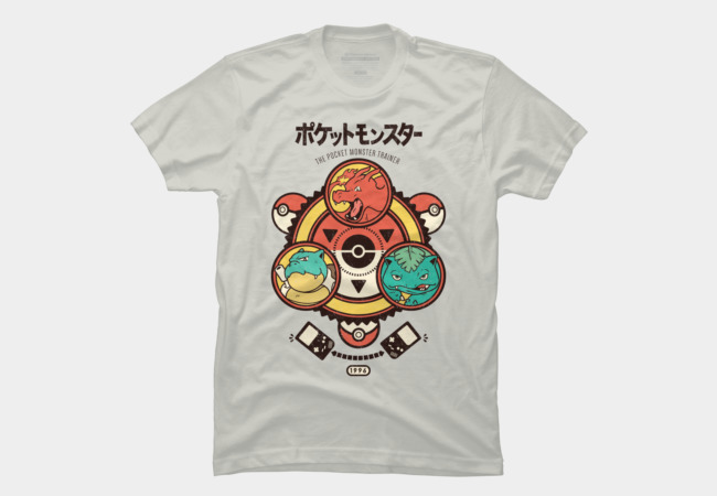 Pocket Monster Trainer Men's T-Shirt