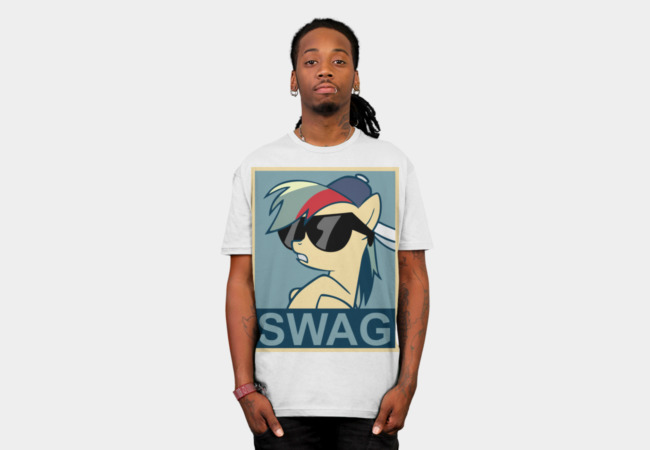 Pony SWAG T-Shirt - Design By Humans