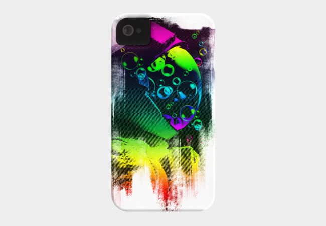astro buble Phone Case - Design By Humans